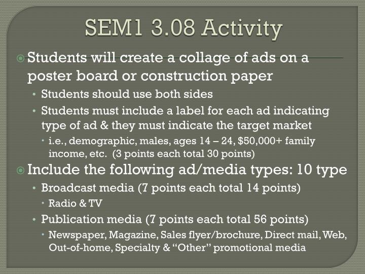 SEM1 3.08 Activity