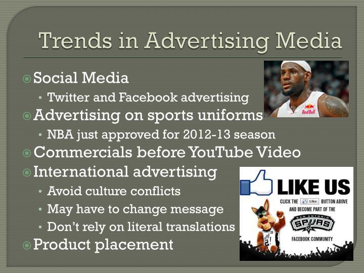Trends in Advertising Media