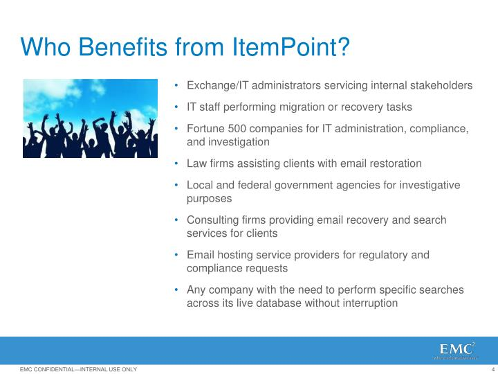 Who Benefits from ItemPoint?