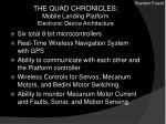 the quad chronicles mobile landing platform electronic device architecture