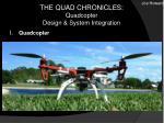 the quad chronicles quadcopter design system integration
