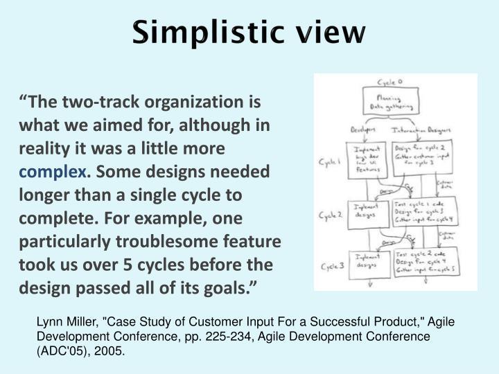 Simplistic view