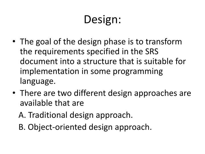 Design: