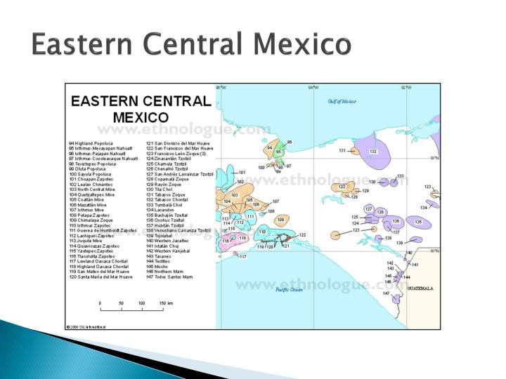 Eastern Central Mexico
