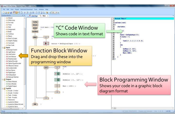 """""""C"""" Code Window"""