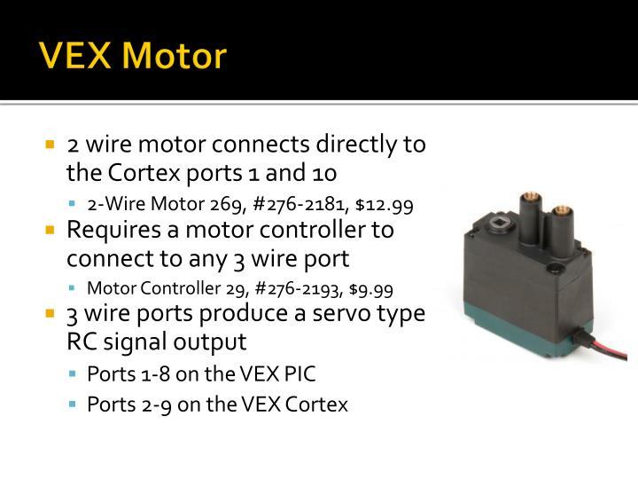 VEX Motor