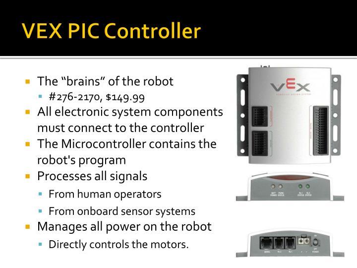 VEX PIC Controller