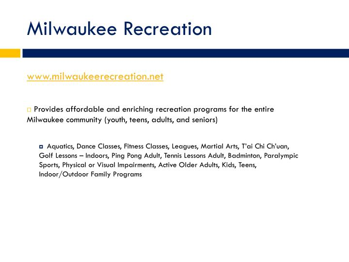 www.milwaukeerecreation.net