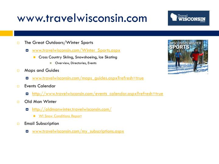 Www travelwisconsin com
