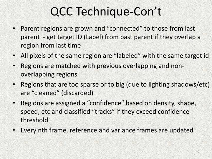 QCC Technique-
