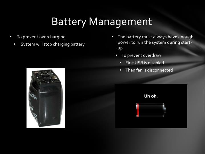 Battery Management