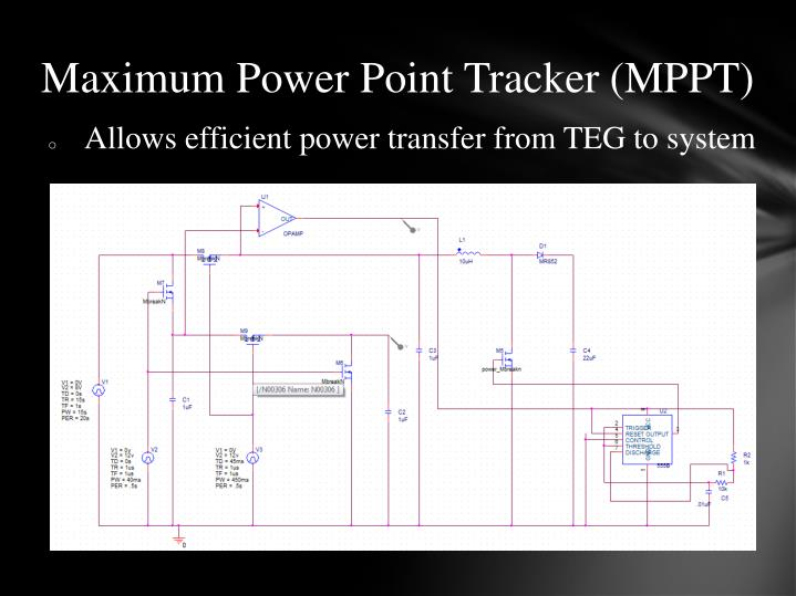 Maximum Power Point Tracker