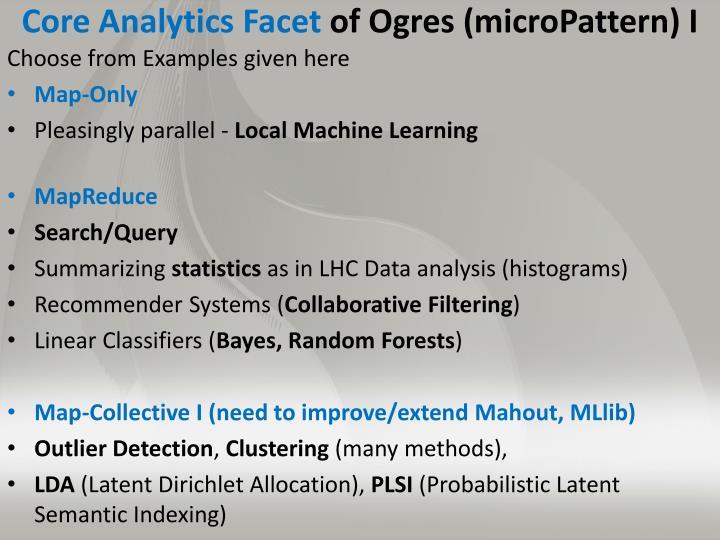 Core Analytics