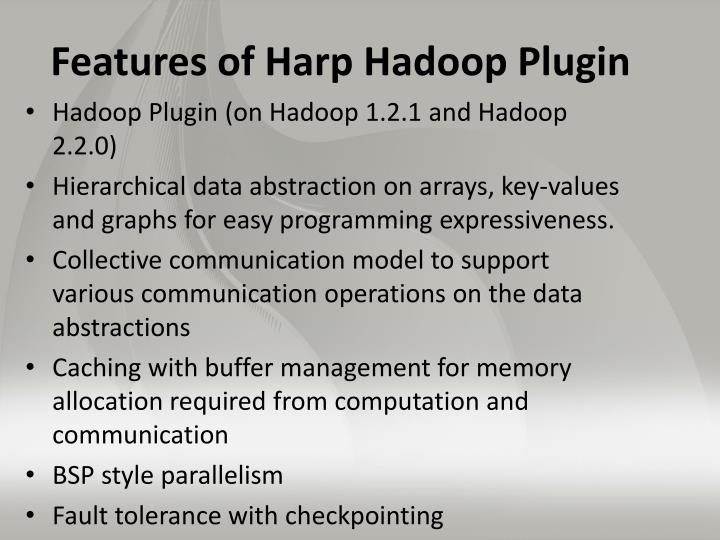 Features of Harp