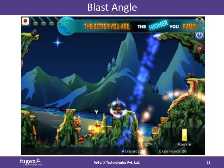 Blast Angle