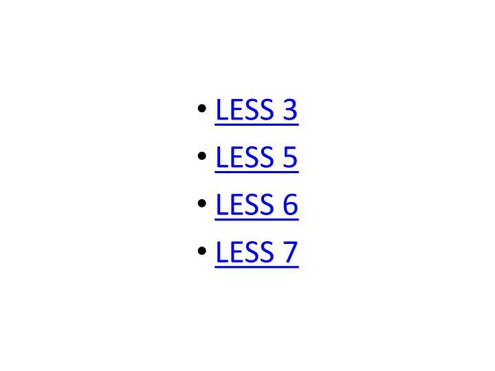 LESS 3