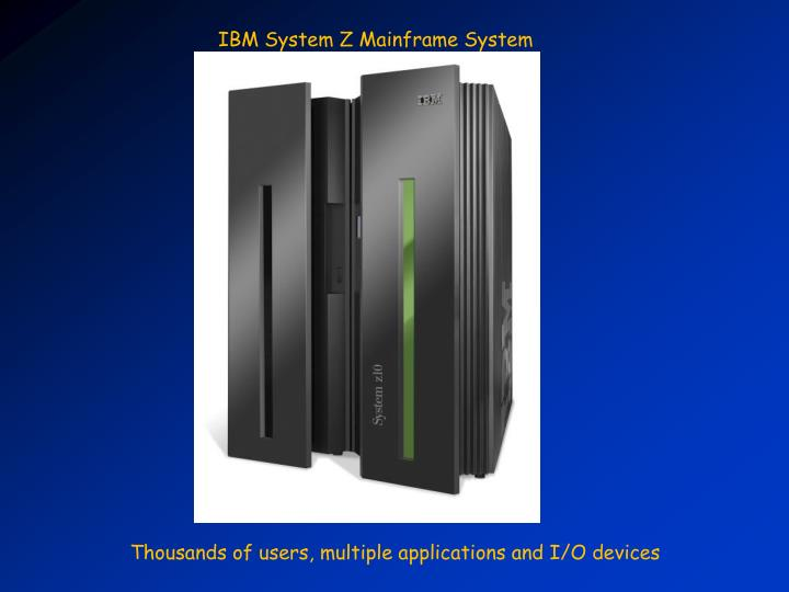 IBM System Z Mainframe System