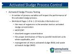 activated sludge process control1