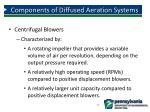 components of diffused aeration systems5