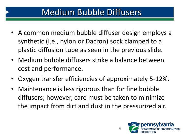 Medium Bubble