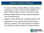medium bubble diffusers