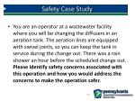 safety case study