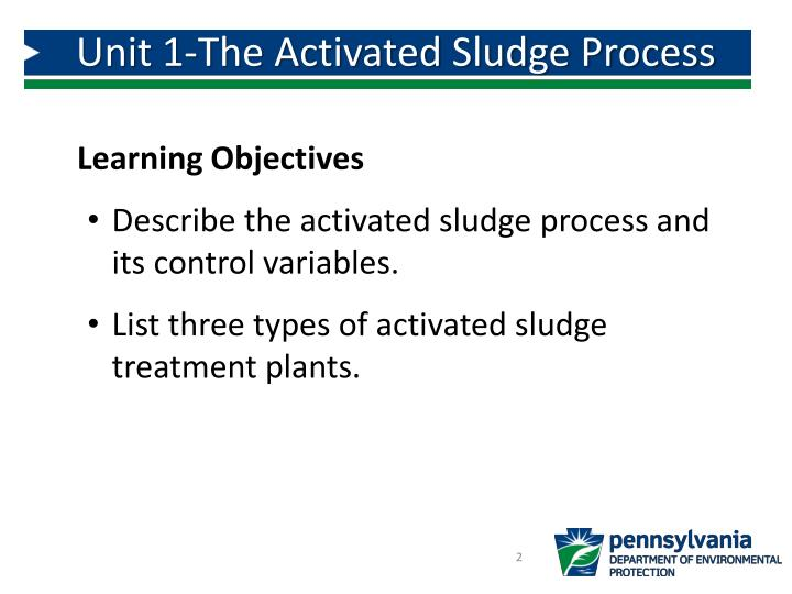 Unit 1-The Activated Sludge Process