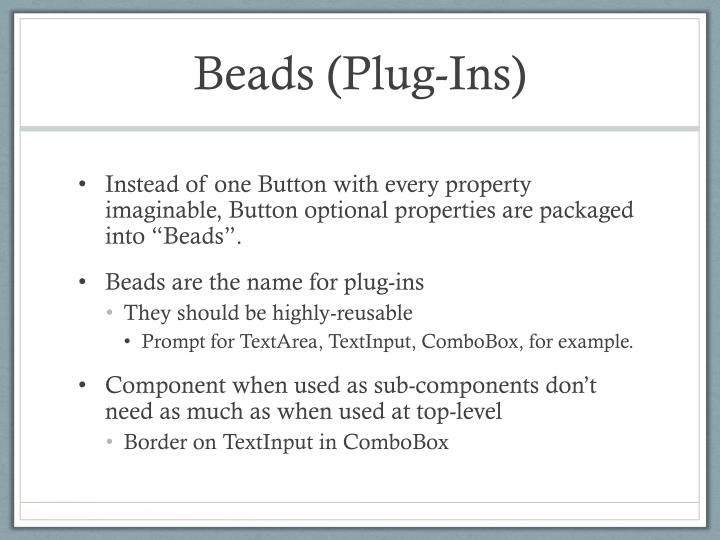Beads (Plug-Ins)