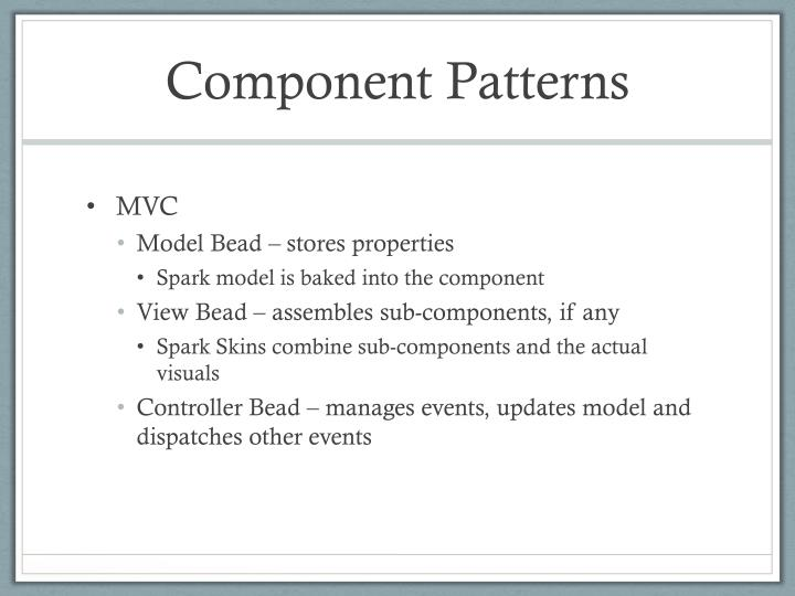 Component Patterns