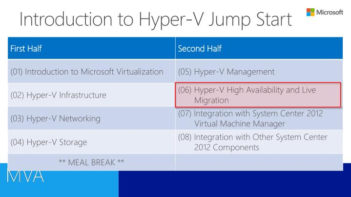 Introduction to hyper v jump start