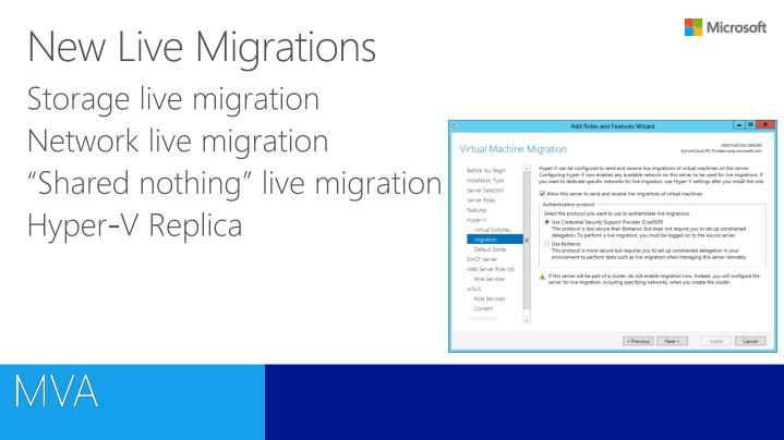 New Live Migrations