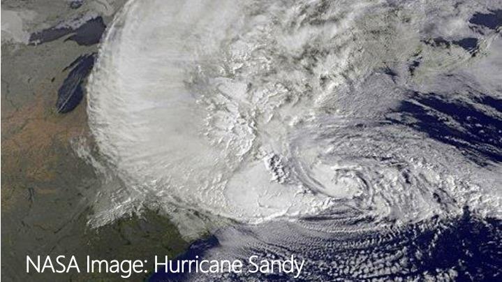 NASA Image: Hurricane Sandy