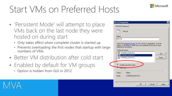 Start VMs on Preferred Hosts