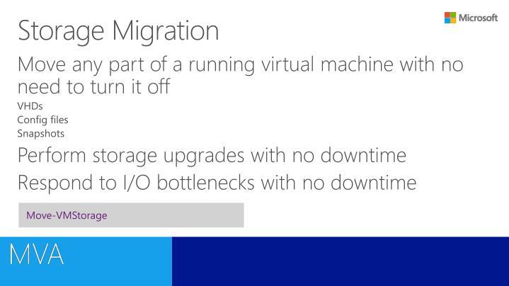 Storage Migration