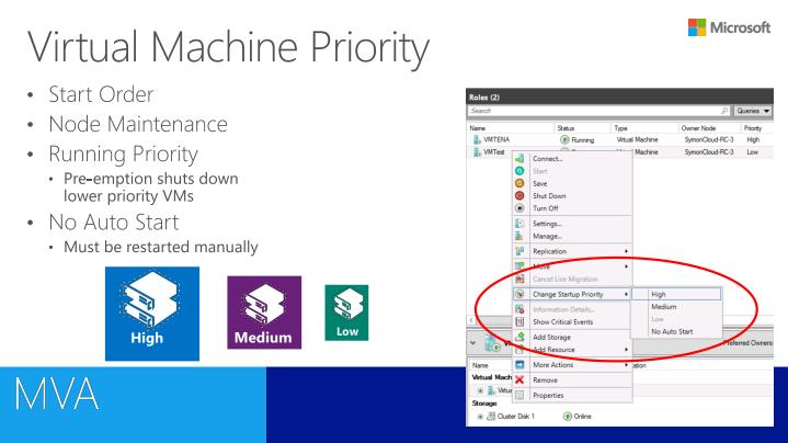 Virtual Machine Priority