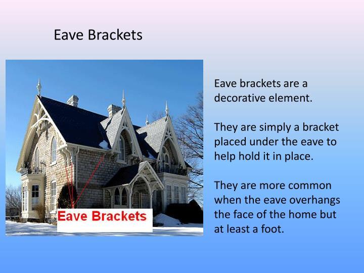 Eave Brackets