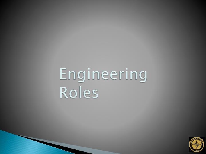 Engineering Roles