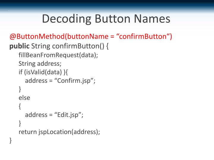Decoding Button Names