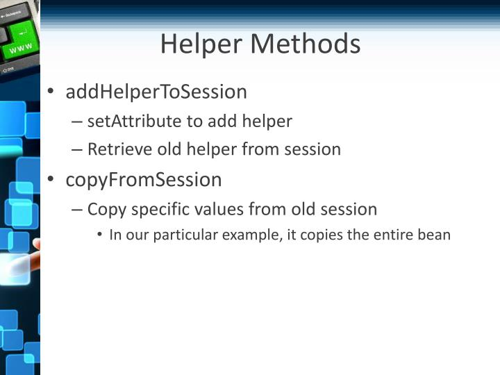 Helper Methods