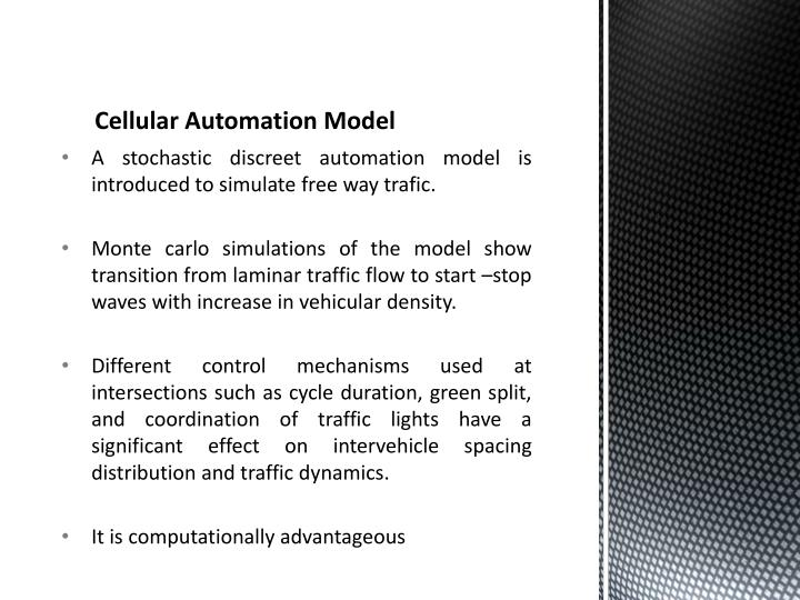 Cellular Automation Model