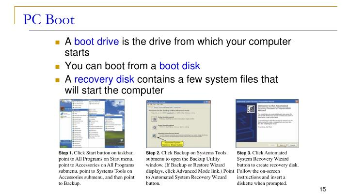 PC Boot