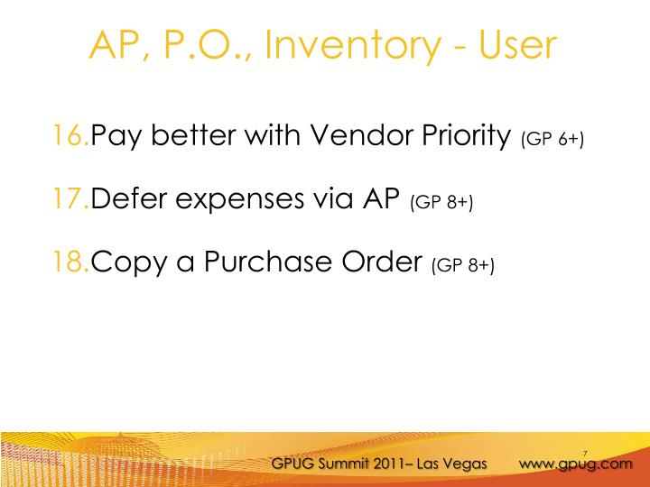 Pay better with Vendor Priority