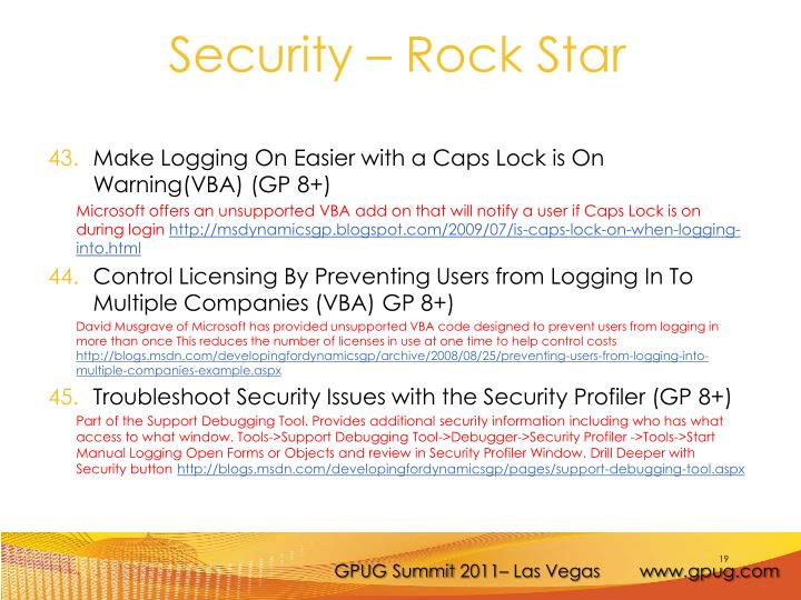 Make Logging On Easier with a Caps Lock is On Warning(VBA