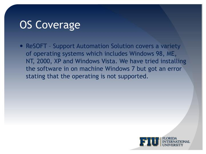 OS Coverage