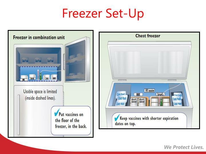 Freezer Set-Up