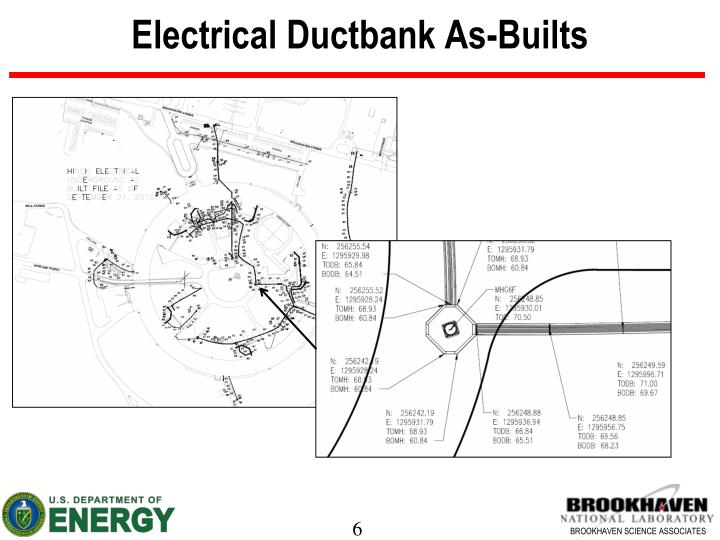 Electrical Ductbank As-Builts