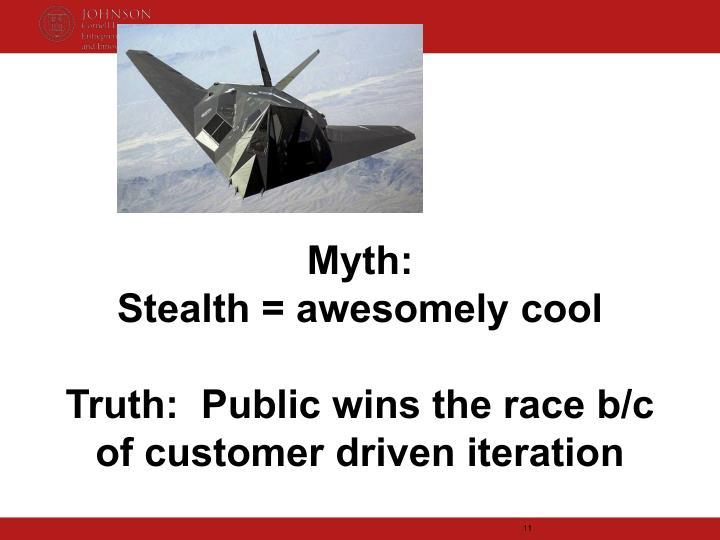 Myth: