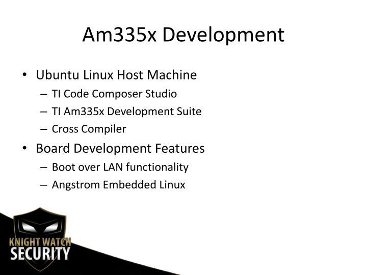 Am335x Development