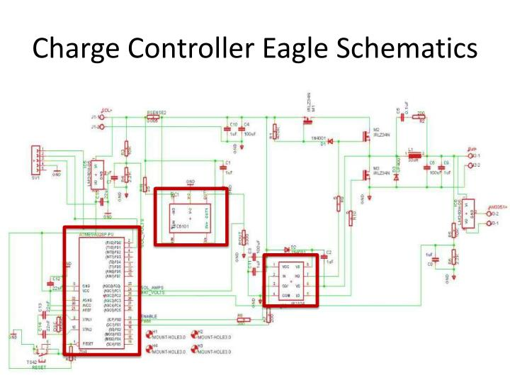 Charge Controller Eagle Schematics