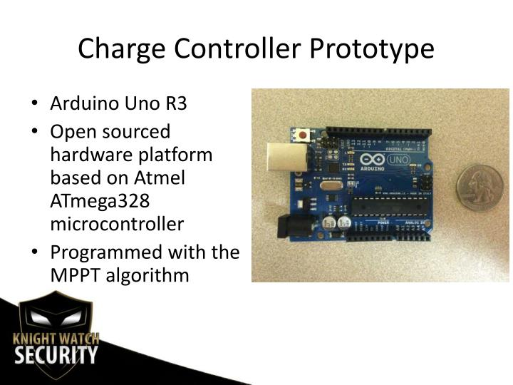 Charge Controller Prototype